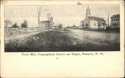 Town Hall, Congregational Church and Chapel