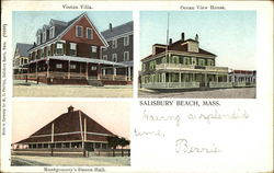 Vinton Villa, Ocean View House, and Montgomery's Dance Hall