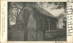 Friends' Meeting House, West Broadway Postcard