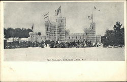 Ice Palace Postcard
