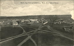 Bird's Eye View from School House