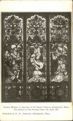 Stained Window in Sacristy, All Saints' Church