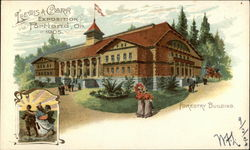 Forestry Building Postcard