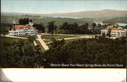 Mansion House from Poland Spring House Postcard