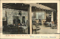 In the Alpine Tavern