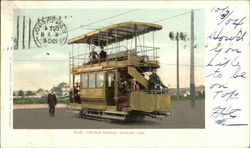 Double Decked Trolley Car