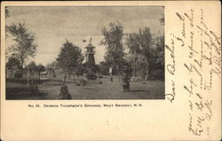 Denman Thompson's Grounds Postcard