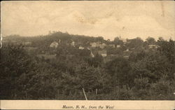 Mason, N.H. From the West