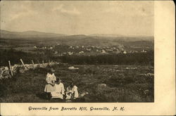 Greenville from Barretts Hill