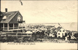 Panorama of Winthrop and Beach