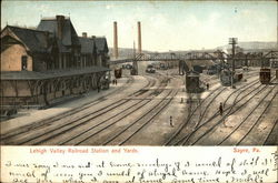 Lehigh Valley Railroad Station and Yards