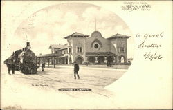 Sunset Depot Postcard