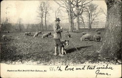 Shepherd and Flock, Druid Hill Park