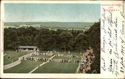 Montrose Lawn Tennis Club Postcard