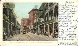 St. Charles Street and St. Charles Hotel