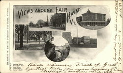 Views Around Fair Haven Postcard