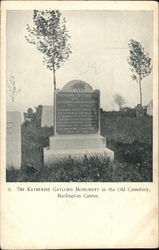 Katherine Gaylord Monument in the Old Cemetery