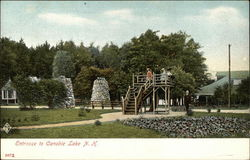 Entrance to Canobie Lake