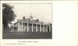 The Mansion, Mount Vernon Postcard