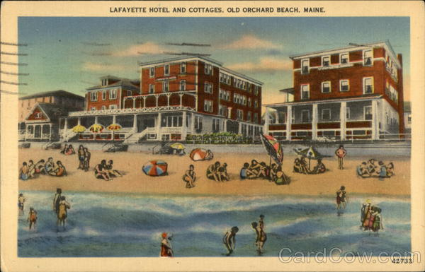 Lafayette Hotel and Cottages Old Orchard Beach Maine