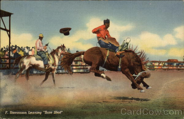 F. Stevenson Leaving Sure Shot Rodeos