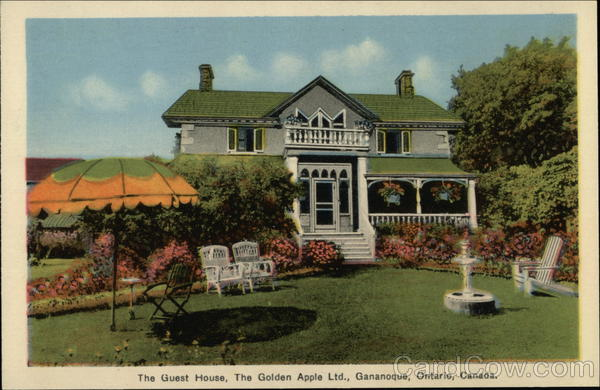 The Guest House, The Golden Apple Ltd. Gananoque Canada