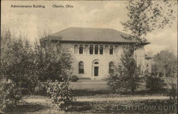 Administration Building Oberlin Ohio