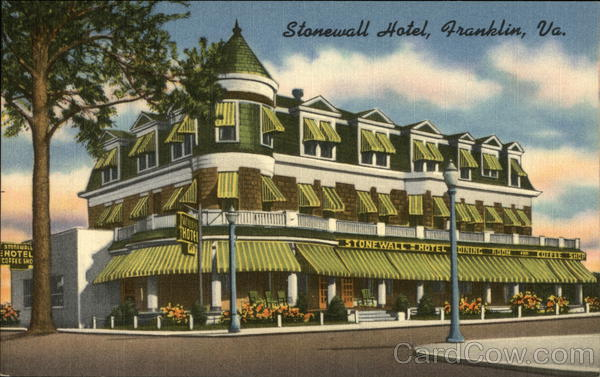Stonewall Hotel Franklin Virginia