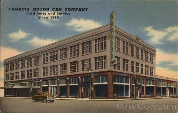 Francis Motor Car Company Ford Dealership Portland Oregon