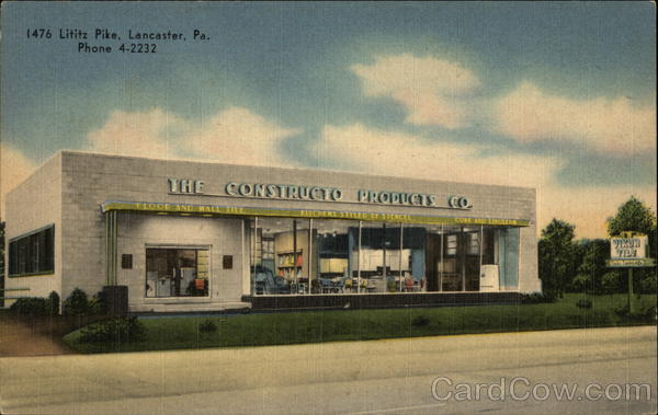 The Constructo Products Co. Lancaster Pennsylvania