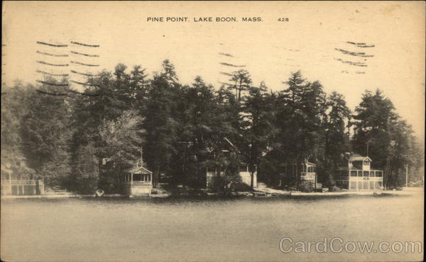 Pine Point, Lake Boon Stow Massachusetts