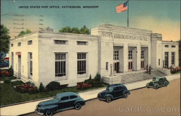 post office hattiesburg ms