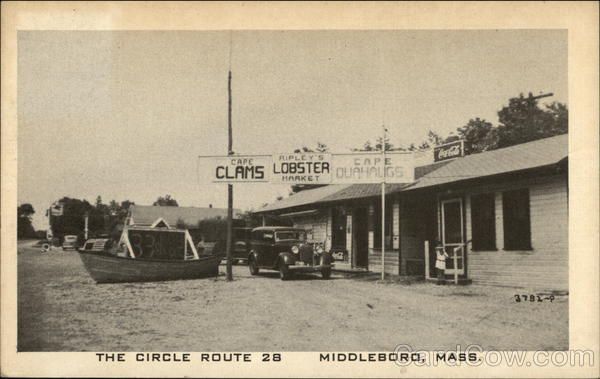 The Circle Route 28, Ripley's Market Middleboro Massachusetts