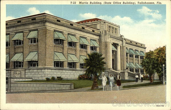 Martin Building, (State Office Building) Tallahassee Florida