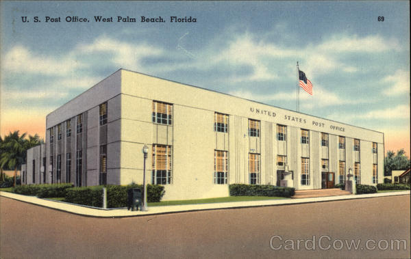 U.S. Post Office West Palm Beach Florida