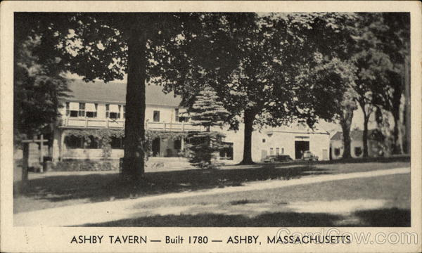 Ashby Tavern Massachusetts