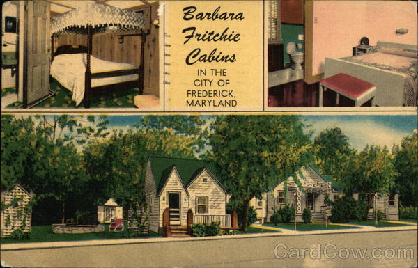 Barbara Fritchie Cabins Frederick Maryland
