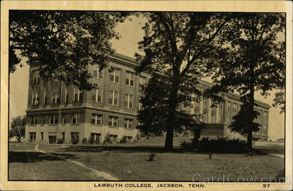 Lambuth College Jackson Tennessee