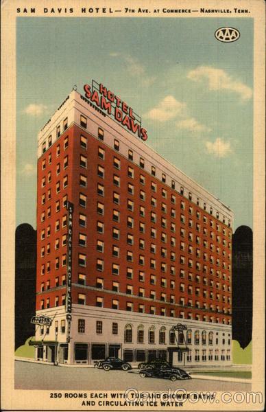 Sam Davis Hotel Nashville Tennessee