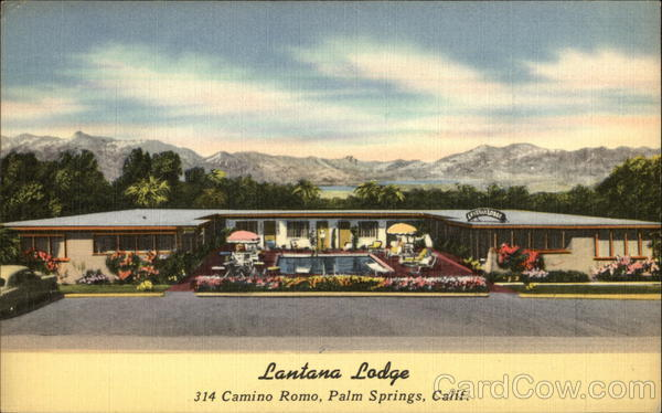 Lantana Lodge Palm Springs California
