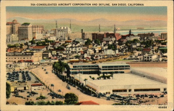 Consolidated Aircraft Corporation and Skyline San Diego California