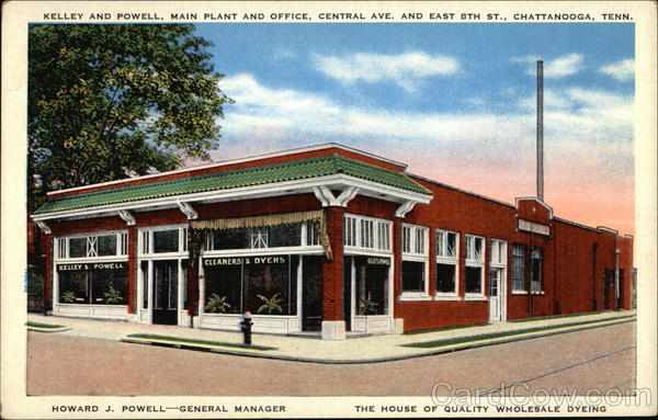 Kelley and Powell Main Plant and Office Chattanooga Tennessee