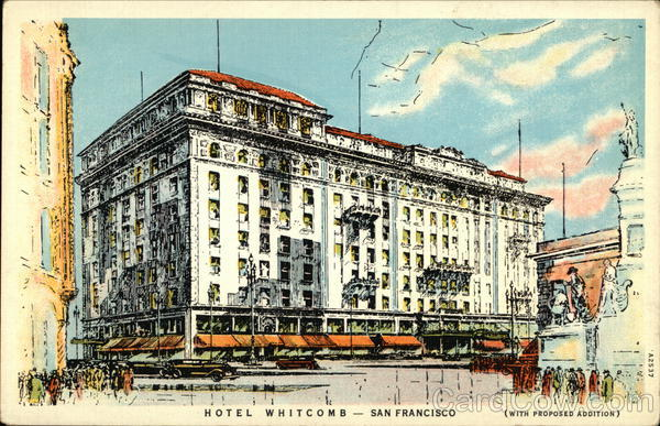 Hotel Whitcomb San Francisco California