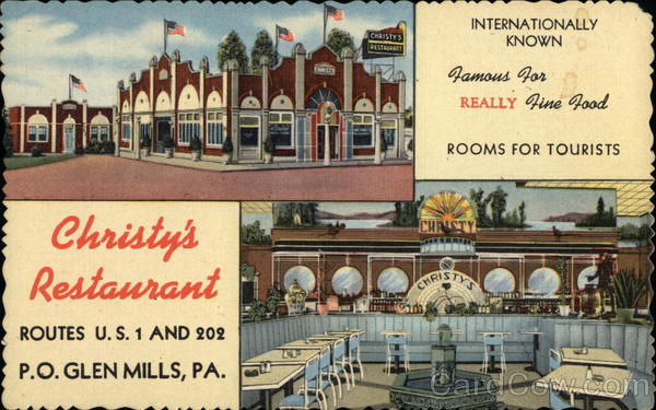 Christy's Restaurant Glen Mills Pennsylvania