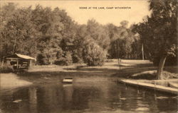 Scene at Lake, Camp Witawentin
