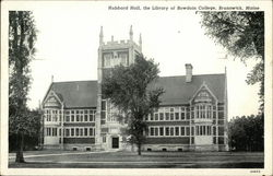 Hubbard Hall, The Library of Bowdoin College