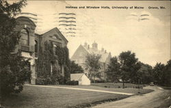 University of Maine - Holmes and Winslow Halls