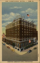 The Yorktowne Hotel - York, PA.