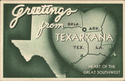 Greetings from Texarkana