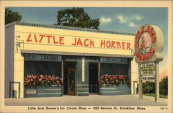Little Jack Horner's Ice Cream Shop